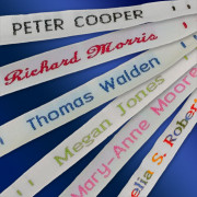 Woven Sew-on Name Tapes
