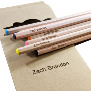 Personalised Wooden Colouring Pencils