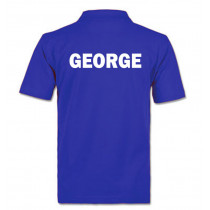 Personalised PE Polo Neck Shirt