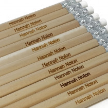Pack of 12 Personalised Pencils