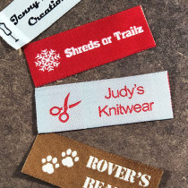 Essential Custom Woven Labels