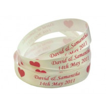 15mm Printed Satin Celebration Ribbon