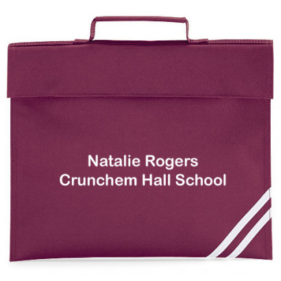 Personalised Classic Book Bag