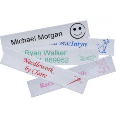 Satin Iron-on Labels