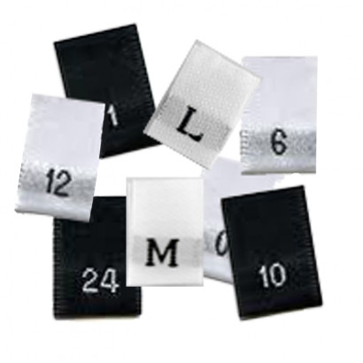Size Tab Labels