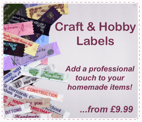 CLick Here For Craft & Hobby Labels
